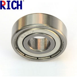 China Chrome Steel Ball Bearing 6201 For Automobile With One Side Rubber Seal Ring factory