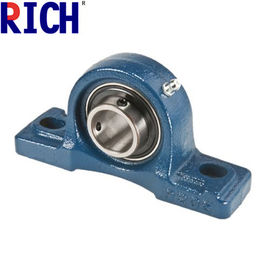 Steel Heavy Duty Pillow Block Bearings , High Precision Idler Pulley Bearing